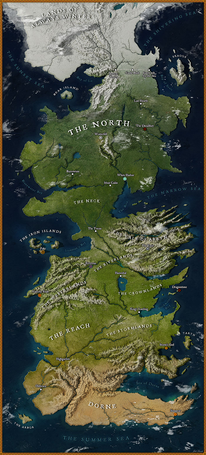 Facts about Westeros